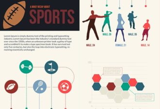 Sports Vector Infographics Infographics vector