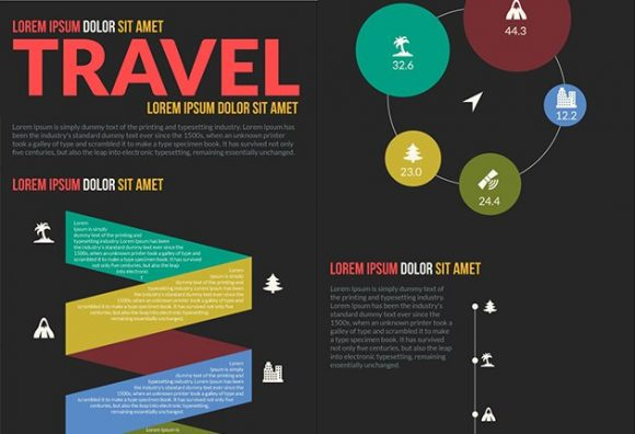 Travel Vector Infographics Infographics vector