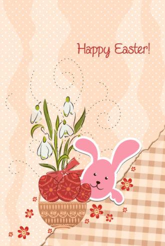 easter background vector illustration Vector Illustrations floral