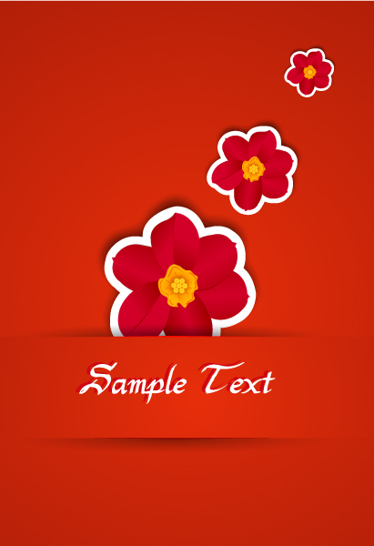 Smashing Floral-3 Vector: Colorful Flowers Vector Illustration 2015 01 01 060