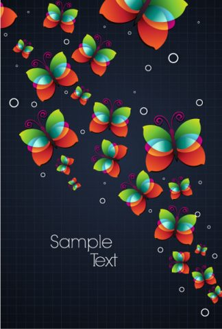colorful butterflies vector illustration Vector Illustrations vector