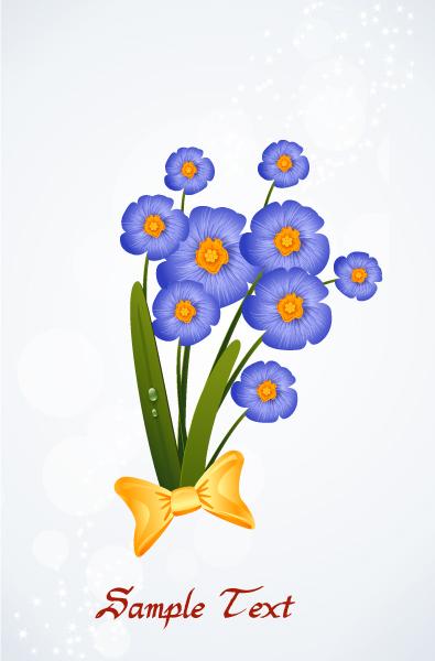 floral background vector illustration 2015 01 01 087