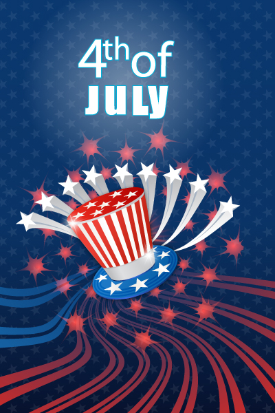 National, 4th Vector Design Vector 4th Of July Independence Day Background 5