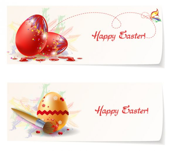 Illustration Eps Vector Easter Banners Vector Illustration 2015 01 01 218