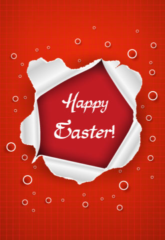 easter frame vector illustration Vector Illustrations vector