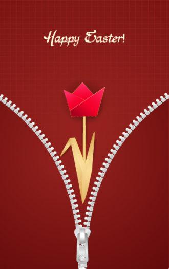 paper tulip vector illustration Vector Illustrations vector