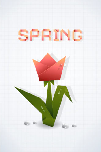 spring background vector illustration Vector Illustrations vector