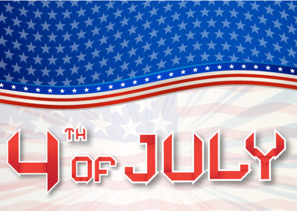 July Vector Image Vector 4th Of July Independence Day Background 5