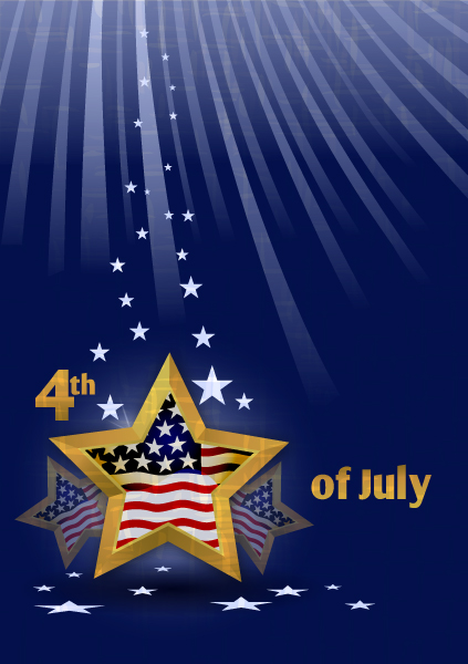 vector 4th of july background with stars 2015 01 01 283