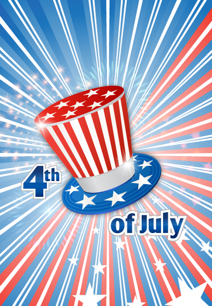 July Vector Graphic Vector 4th Of July Background  Hat 5