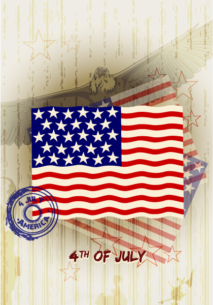 4th Eps Vector Vector 4th Of July Background 5