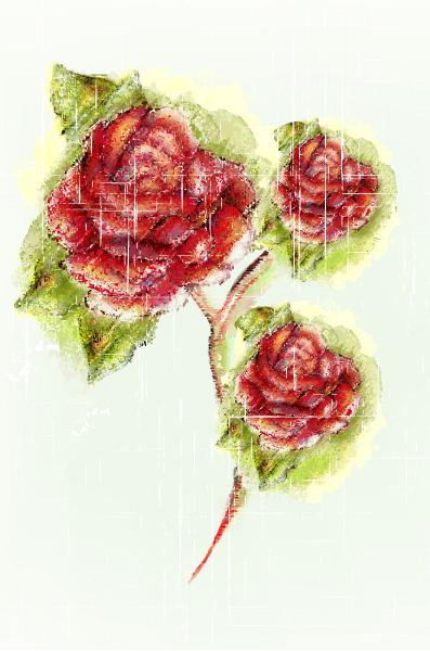 Unique Colorful Vector: Colorful Floral Vector Illustration 2015 01 01 544