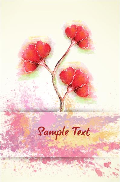 Flower, Floral Vector Design Colorful Floral Vector Illustration 5