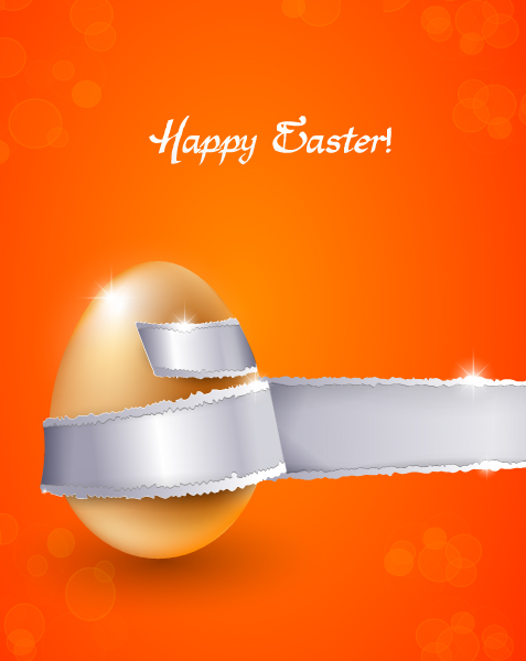 Surprising Illustration Vector Image: Colorful  Easter Background Vector Image Illustration 2015 01 01 568