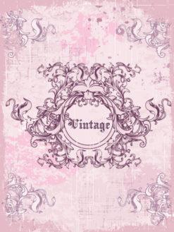frame with floral vector illustration Vector Illustrations old