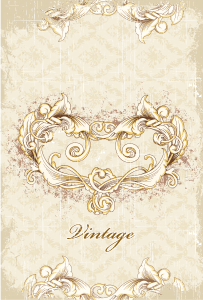 Stunning Grunge Vector Artwork: Grunge Floral Background Vector Artwork Illustration 2015 01 01 640