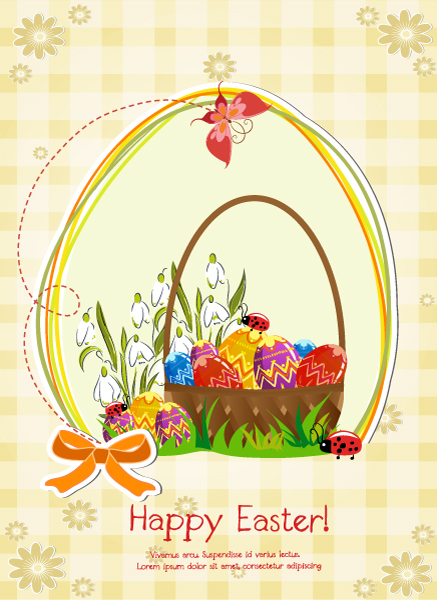 basket of eggs vector illustration 2015 01 01 647
