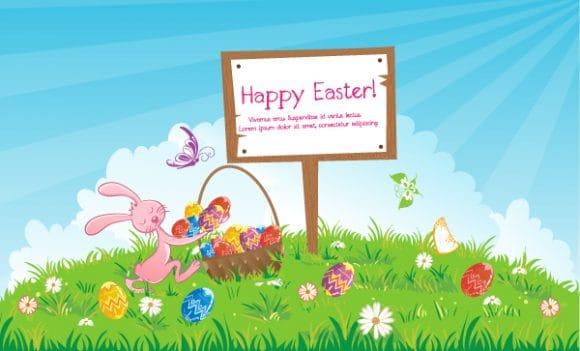 Sign Vector Design Vector Easter Background  Wood Sign 2015 01 01 706