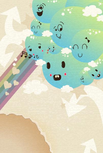 funny concept vector illustration 2015 01 01 748