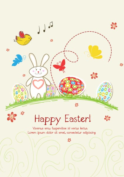 Illustration Vector Illustration: Eggs With Flowers Vector Illustration Illustration 3