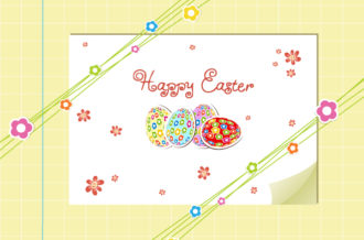 eggs with flowers vector illustration Vector Illustrations vector