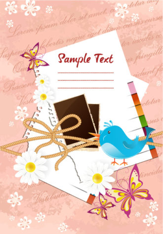 scrapbook elements vector illustration Vector Illustrations vector