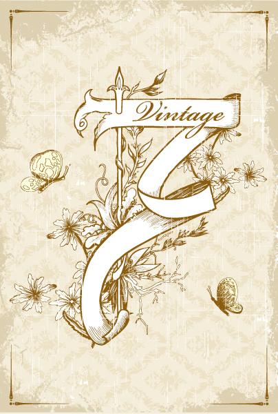 Creative Vector Image Vector Ribbon  Grunge 5