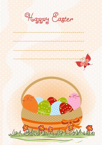 basket of eggs vector illustration 2015 01 01 911