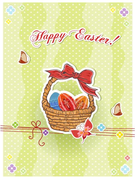 basket of eggs vector illustration Vector Illustrations vector