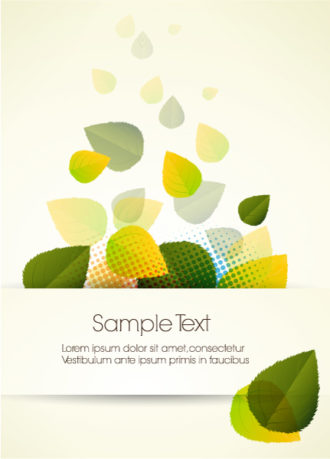 abstract colorful background vector illustration Vector Illustrations leaf