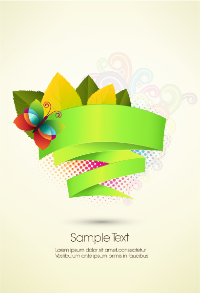 abstract banner vector illustration 5