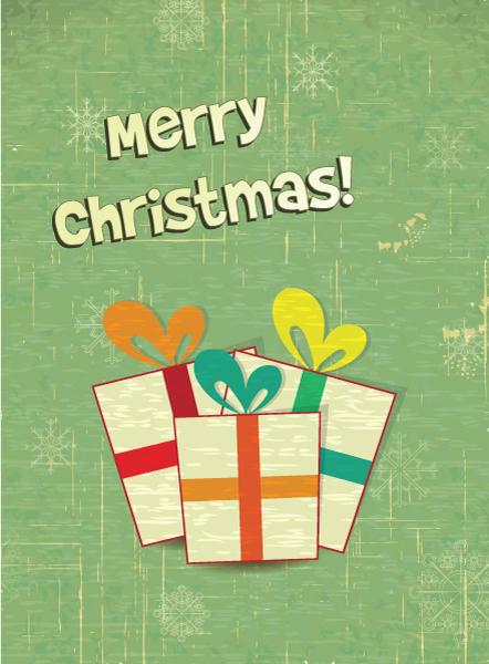 Illustration Vector Art Christmas Illustration  Gift 2015 02 02 010