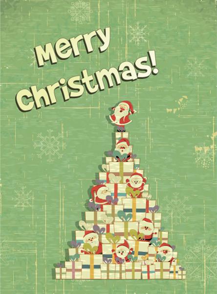 Christmas Eps Vector Christmas Illustration  Christmas Tree 3
