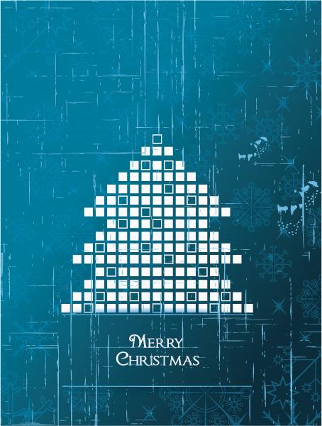 Santa, Christmas, Christmas Vector Background Christmas Illustration  Christmas Tree 2015 02 02 023