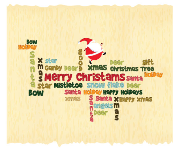 Download Creative Vector: Christmas Illustration With Santa 3