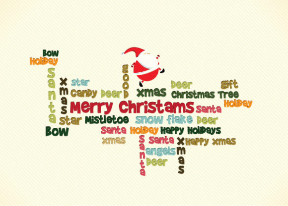 Ornament, Christmas Vector Christmas Illustration  Santa 2015 02 02 057