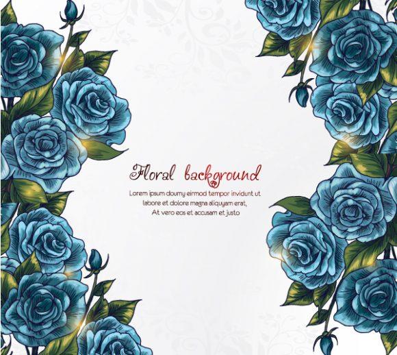 Unique Illustration Eps Vector: Floral Background Eps Vector Illustration 2015 02 02 070