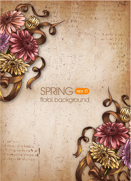 Abstract-2 Eps Vector Floral Background Vector Illustration 2015 02 02 082