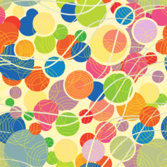 vector colorful pattern with geometric shapes Vector Illustrations vector