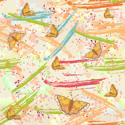Multiply, Insect Vector Background Vector Colorful Pattern  Splashes 5