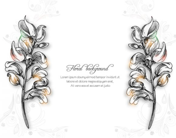 Floral Eps Vector Floral Background Vector Illustration 2015 02 02 094
