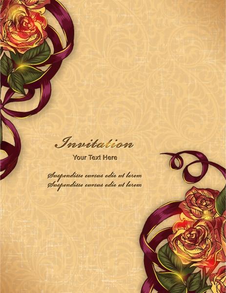 Floral, Illustration Eps Vector Floral Background Vector Illustration 5