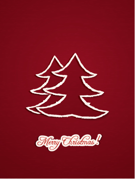 Christmas Eps Vector Christmas Illustration  Christmas Tree 3