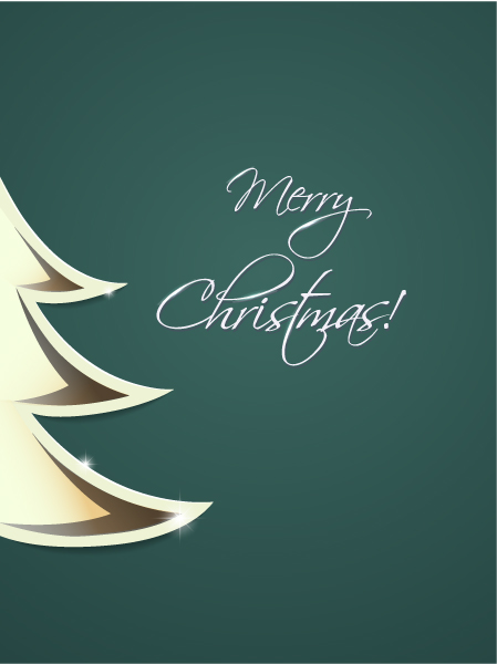 Tree Vector Artwork Christmas Illustration  Christmas Tree 2015 02 02 124