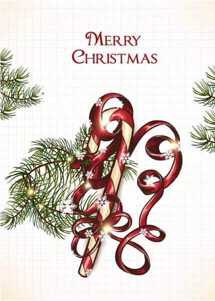 Creative Vector Illustration Christmas Illustration  Cy  Bow 3
