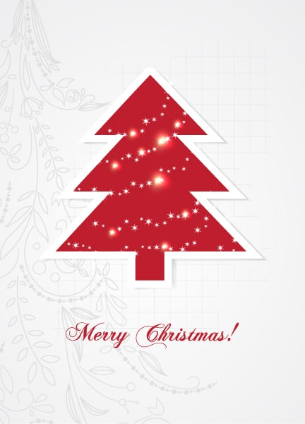 Xmas, Fir, Christmas Vector Christmas Illustration  Christmas Tree 2015 02 02 132