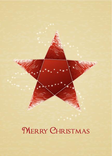 Christmas Eps Vector Christmas Vector Illustration  Christmas Star 2015 02 02 144