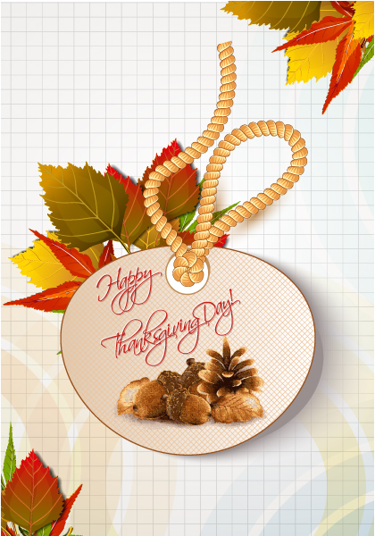 happy thanksgiving day vector 2015 02 02 167