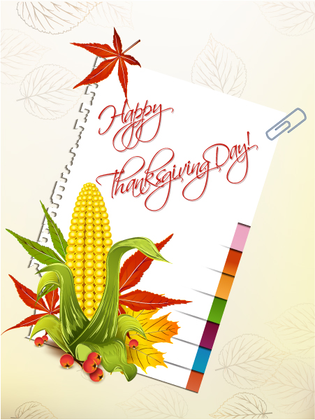 Day Vector Image Happy Thanksgiving Day Vector 2015 02 02 170