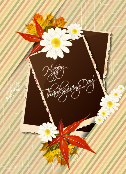 Happy, Leaves Vector Image Happy Thanksgiving Day Vector 2015 02 02 174